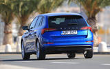 Skoda Scala 2019 first drive review - on the road rear