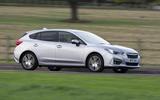 Subaru Impreza 2018 UK review on the road