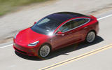 Tesla Model 3 2018 review on the road top left
