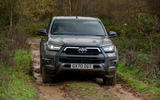 Toyota Hilux Invincible X 2020 UK first drive review - off-road front
