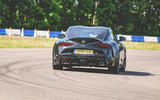 Toyota Supra 2019 UK first drive review - track rear