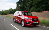 Vauxhall Combo Life 2018 UK first drive review on the road