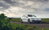 20 Volkswagen Golf GTD 2021 UK first drive review static