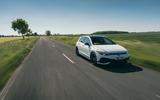 20 Volkswagen Golf GTI Clubsport 45 2021 UK FD tracking road