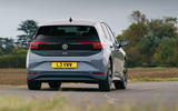 Volkswagen ID 3 2020 UK first drive review - cornering rear
