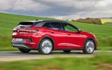 20 Volkswagen ID4 GTX 2021 FD tracking rear