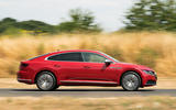 Volkswagen Arteon 2018 long-term review on the road side