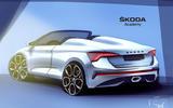 2020 Skoda Scala Spider render