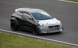Hyundai i30N test car at Nürburgring