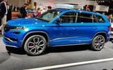 Skoda Kodiaq vRS revealed as 237bhp performance SUV