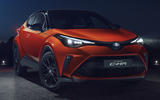 2019 Toyota C-HR Orange Edition - static front