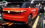 Volkswagen Roomzz concept motor show - hero rear