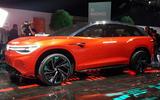 Volkswagen Roomzz concept motor show - hero side