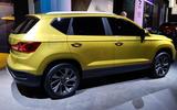 Volkswagen Jetta VS5 SUV - rear 3/4