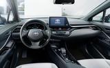 Toyota C-HR EV - interior