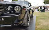 Charge Automotive electric Ford Mustang at Goodwood