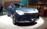 Cupra Tavascan concept at Frankfurt motor show 2019 - front