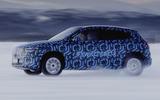 2020 Mercedes-Benz EQA prototype winter testing