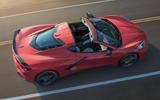 Corvette Stingray C8 official reveal - roof