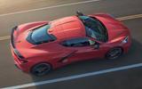 Corvette Stingray C8 official reveal - roof