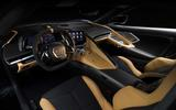 Corvette Stingray C8 official reveal - interior