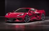 Corvette Stingray C8 official reveal - front