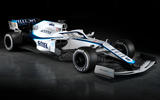 2020 Williams F1 livery official images - front quarter right