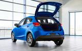 2020 US-spec Toyota Yaris - boot