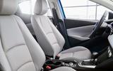 2020 US-spec Toyota Yaris - interior