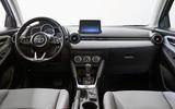 2020 US-spec Toyota Yaris - dashboard
