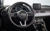 2020 US-spec Toyota Yaris - steering wheel
