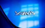 2020 US-spec Toyota Yaris - badge