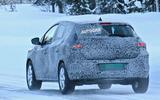 2021 Dacia Sandero winter testing - rear