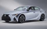 2021 Lexus IS front side