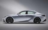 2021 Lexus IS side on