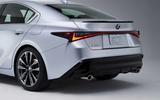2021 Lexus IS side rear