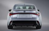 2021 Lexus IS rear