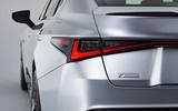 2021 Lexus IS taillight close