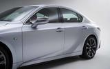 2021 Lexus IS side