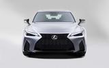 2021 Lexus IS front