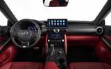 2021 Lexus IS cabin