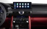 2021 Lexus IS screen
