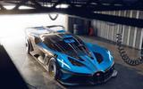 Bugatti Bolide front garage