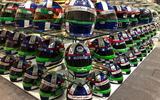 20 Dario Franchitti helmets