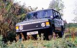 Original Range Rover - tracking front