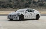 2021 Mercedes-Benz EQS camouflaged prototype