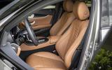 2020 Mercedes-Benz E300e - front seats