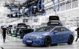 Mercedes EQS production