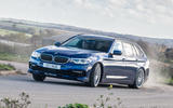 Alpina B5 Touring 2018 UK first drive review - spirited cornering