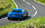 Alpine A110 2018 UK on the road rear